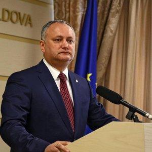 Додон залишився незадоволений санкціями РФ проти України