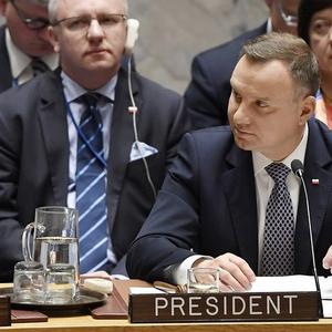 """Дуда підтримав """"український варіант"""" миротворців ООН для Донбасу"""