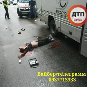 ДТП в Борисполе: под колесами автобуса погибла девочка - СМИ