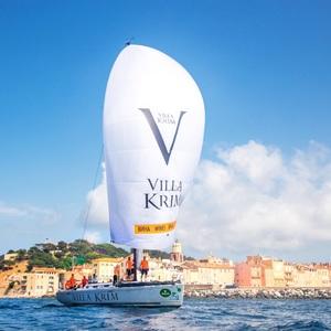 Яхта Villa Krim лідирує у парусній регаті Giraglia Rolex Cup 2018
