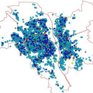 Киевэнерго открыла онлайн-карту размещения электросетей