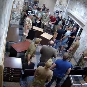 Полиция квалифицировала нападение на офис НАБУ как хулиганство
