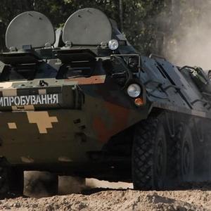 В Украине модернизировали бронетранспортер БТР-60: видео и фото
