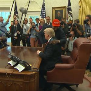 Каньє Уест в Білому Домі виступив перед Трампом з монологом