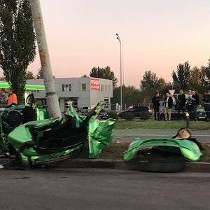 ДТП в Киеве после езды по ступенькам: задержан водитель Seat