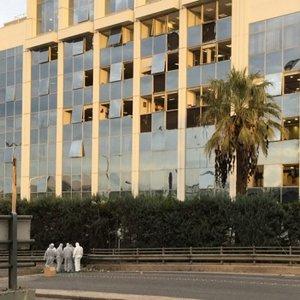 В Греции возле здания телеканала взорвали бомбу