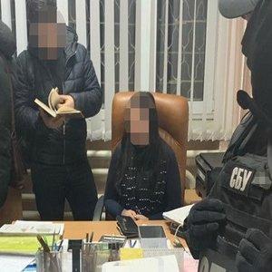На взятке задержали одну из руководителей прокуратуры - СБУ