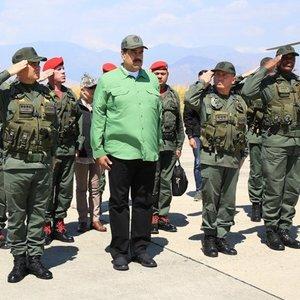 Мадуро собирает ополченцев