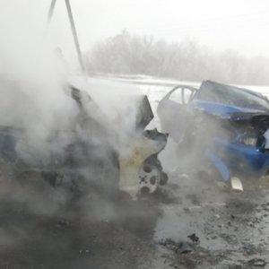 У Донбасі в ДТП загинуло шестеро людей: фото