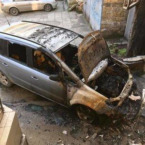В Одессе сожгли авто активиста-борца против застроек: фото