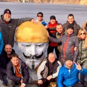 Бюст Ленина сделали объектом Подводного парка под Днепром: видео