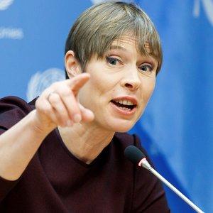 Президент Эстонии призвала не забывать об оккупации Крыма