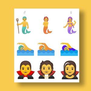 Google создал 53 гендерно-нейтральных эмодзи