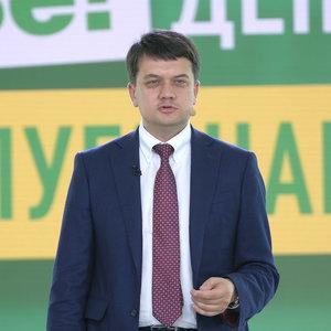 Разумков: Буду по-русски, пока Донбасс и Крым оккупированы