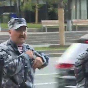 Задержаниями в Москве командует беглый беркутовец Кусюк: видео
