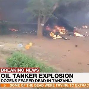 60 человек погибли из-за взрыва бензовоза в Танзании: видео
