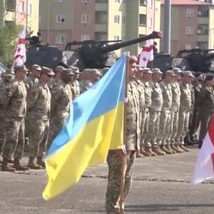 Военные учения украинских морпехов в Грузии: яркое видео