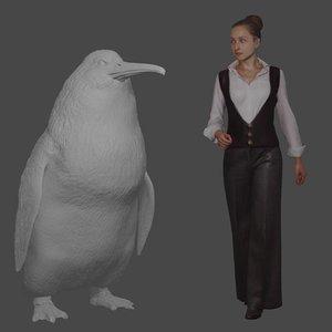 В Новой Зеландии нашли останки пингвина размером с человека: фото