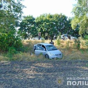 В Черкасской области из-за ДТП напали на полицейского: фото