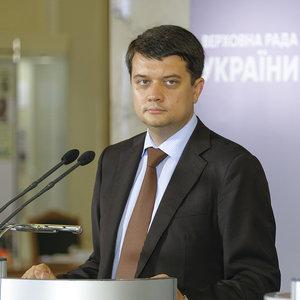 Разумков назвал кандидатуры спикера и первого вице-спикера Рады
