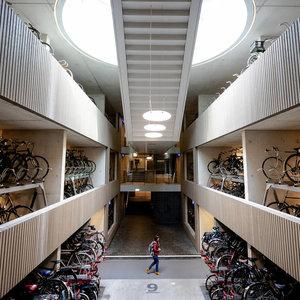 Крупнейший в мире велопаркинг открыли в Нидерландах: видео