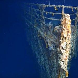 Затонувший 107 лет назад Титаник на глубине 3750 метров: видео