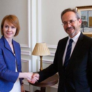 Новый посол Австрии начал свою работу в Украине