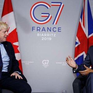 Канада и Британия выступили против возвращения РФ в состав G7