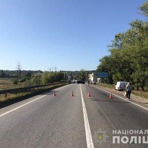 В Харькове обвалился автомобильный мост: фото, видео
