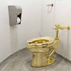 За $6 млн. Из поместья Черчилля украли золотой унитаз: видео