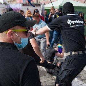 Избиения и взрывы. Столкновения после ХарьковПрайд-2019: видео